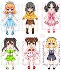 Photoshop Entri Peraduan #43 for Illustration of cute little girls with outfit