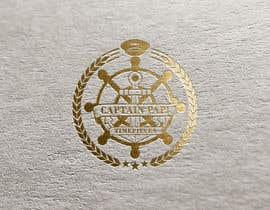 """#706 cho Make a Logo """"Captain Papi Timepieces"""" bởi eddesignswork"""