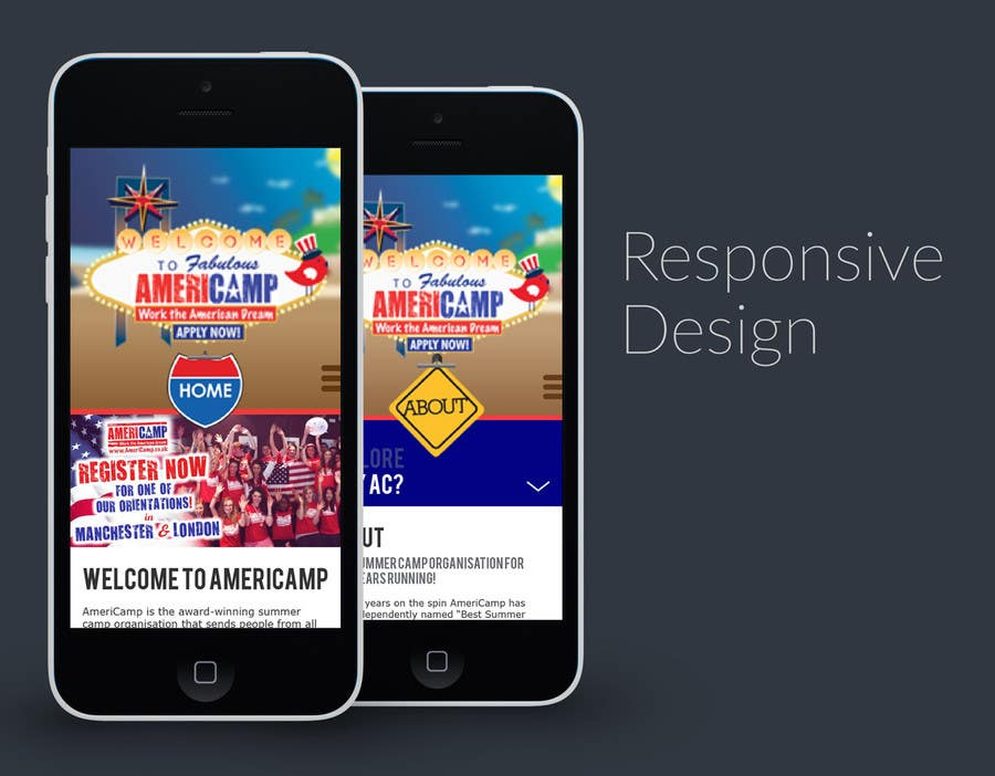Contest Entry #                                        8                                      for                                         Design a Website Mockup for Responsive version of EXISTING WEBSITE -- 2