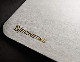 #828 untuk Biznetiks is the name of my logo oleh aklimaakter01304