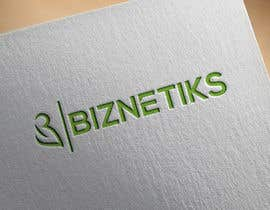 #833 untuk Biznetiks is the name of my logo oleh aklimaakter01304