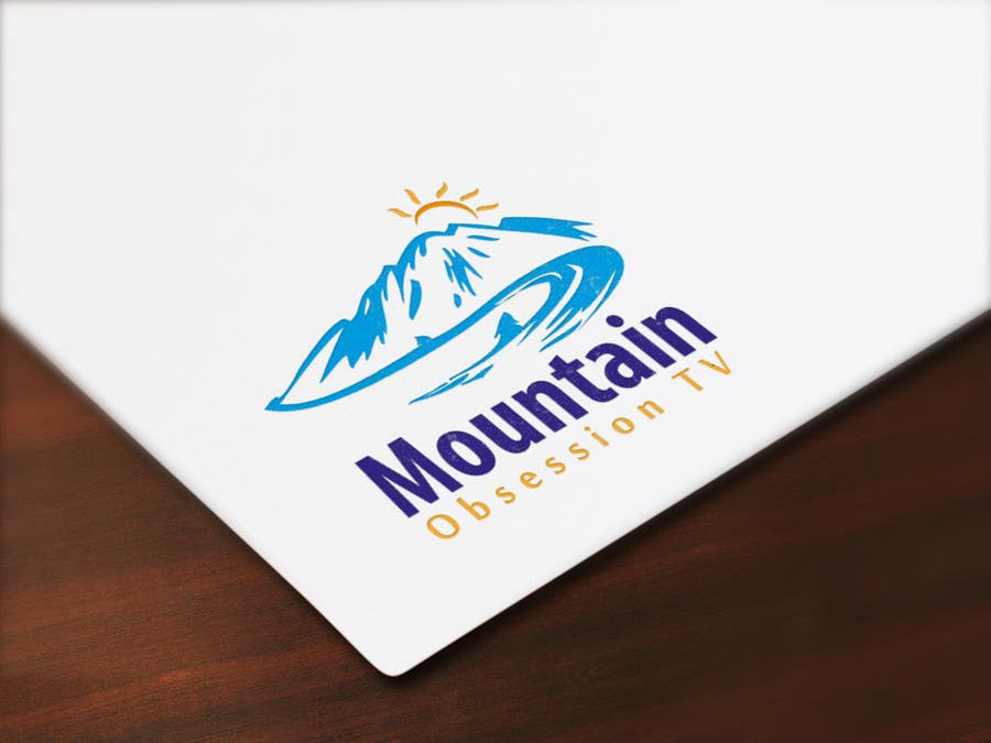 Contest Entry #                                        11                                      for                                         Design a Logo for Mountain Obsession TV