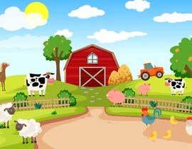#58 for Kids Farm Animal Coloring Book af afridarahman09