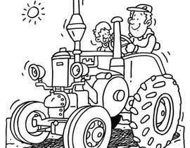 #42 for Kids Farm Animal Coloring Book af aishnakushwah