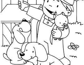 #49 for Kids Farm Animal Coloring Book af aishnakushwah