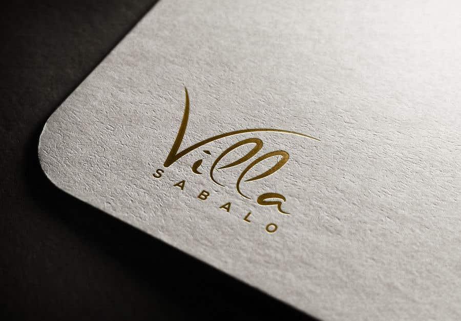"""Proposition n°                                        210                                      du concours                                         Build New Logo for """"Villa Sabalo"""""""