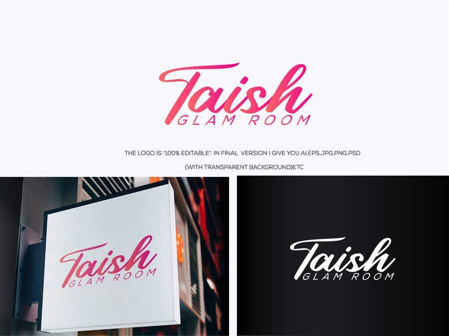 Inscrição nº                                         11                                      do Concurso para                                         Taish Glam Room - Logo Design