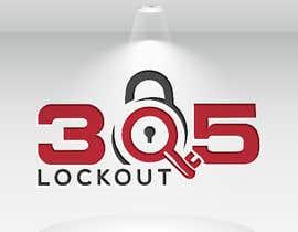 #155 for 305 LockOut - Logo Design af josnaa831