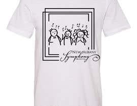 Nro 219 kilpailuun NEw Albany Symphony Chorus Tee shirt Design. käyttäjältä masud39841