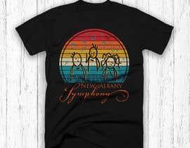 Nro 406 kilpailuun NEw Albany Symphony Chorus Tee shirt Design. käyttäjältä graphicsaif153