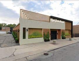 nº 28 pour Design a building (wedding BANQUET hall) facade par rohit618pathak