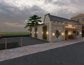 nº 25 pour Design a building (wedding BANQUET hall) facade par jishaq085