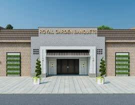 nº 33 pour Design a building (wedding BANQUET hall) facade par ahmedkhijir