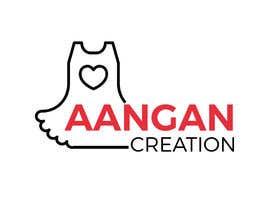 #44 untuk Need a logo for our company Aangan Creation deals in unstiched dress material oleh ashadurrahman4