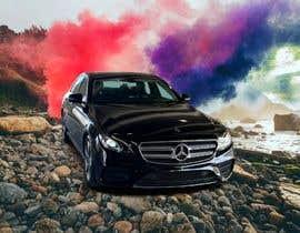 #76 cho I want colored smoke on the car photoshopped bởi kamrankhan797879