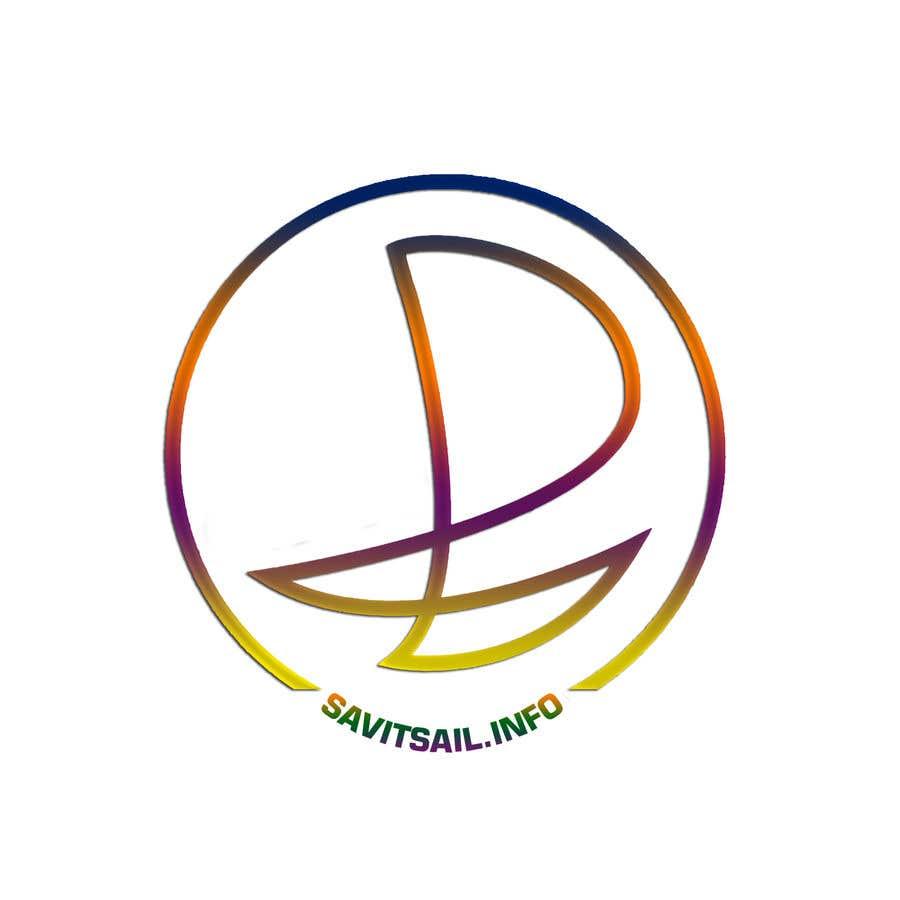 Kilpailutyö #                                        202                                      kilpailussa                                         Design logo for a sailing catamaran