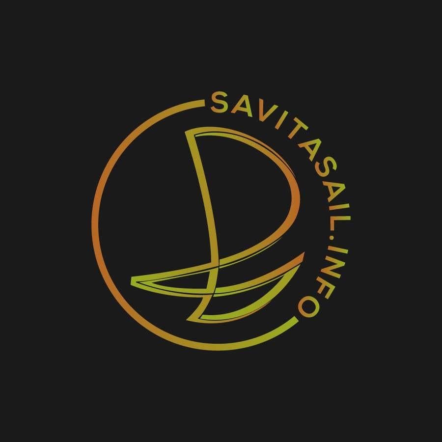 Kilpailutyö #                                        216                                      kilpailussa                                         Design logo for a sailing catamaran