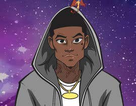 #3 for Anime illustration for rap album cover af riosalado1