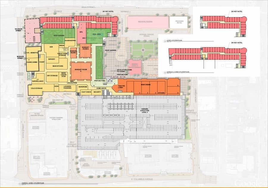 Konkurrenceindlæg #                                        18                                      for                                         Casino Floor Plan and concept design