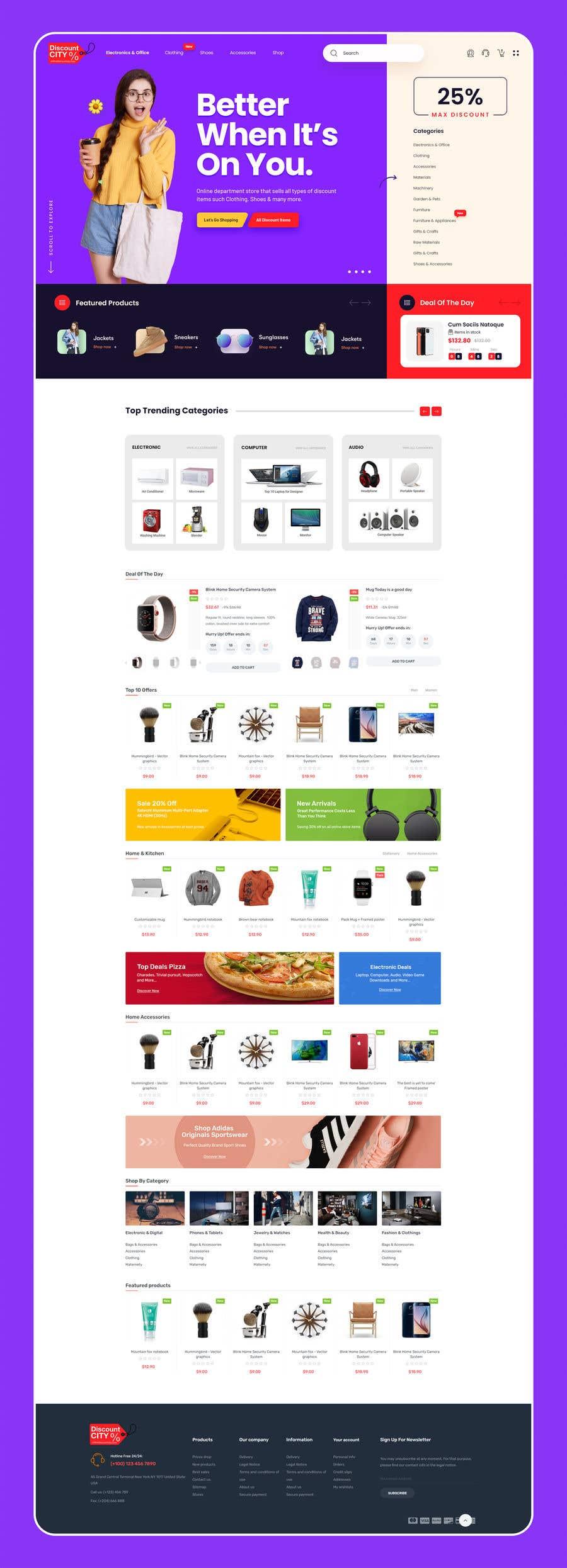 Penyertaan Peraduan #                                        58                                      untuk                                         Create a website (online store e-Commerce) ***NO WORDPRESS ALLOWED***