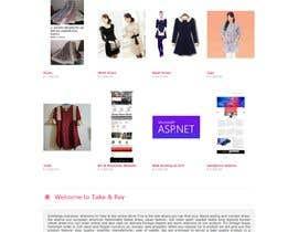Nro 48 kilpailuun Create a website (online store e-Commerce) ***NO WORDPRESS ALLOWED*** käyttäjältä toufiqelahee