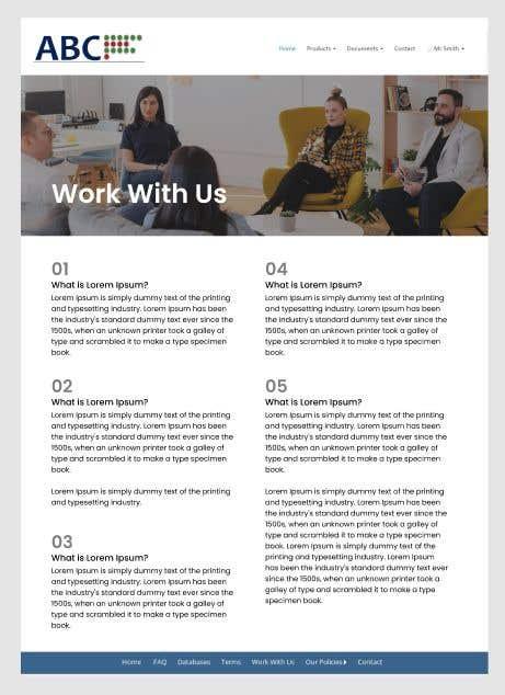 Bài tham dự cuộc thi #                                        8                                      cho                                         Create a single page design for an existing site
