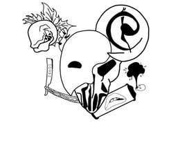 #7 untuk Neo Traditional, Musical Themed Tattoo oleh Zeet3283