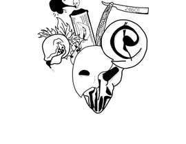 #10 untuk Neo Traditional, Musical Themed Tattoo oleh Zeet3283