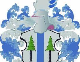 #44 untuk Image to Vectorize my family crest oleh Dipto261