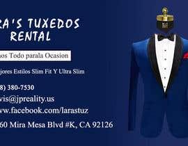 #138 for Bussines Cards for Tuxedo Rental *Contest* af Shuvo4094
