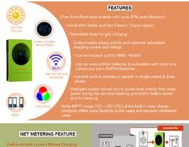 #30 for Design a Brochure for a new electrical product af Shafina01