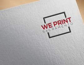 Nro 6 kilpailuun We Print Sacramento Logo käyttäjältä professionalkaws