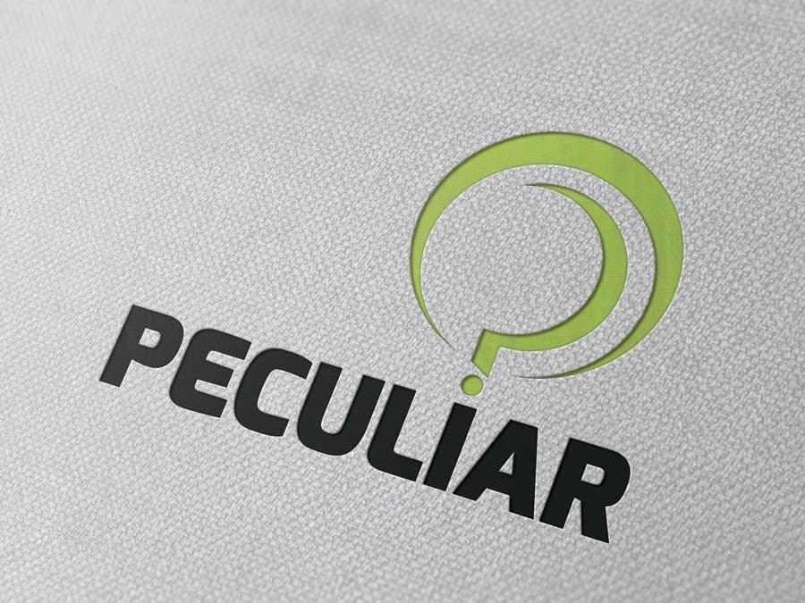 Kilpailutyö #100 kilpailussa Design a Logo for Peculiar
