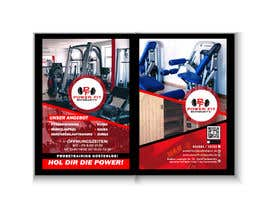 Nro 64 kilpailuun Din Lang Flyer 2 Seitig für ein Fitnessstudio käyttäjältä clickgraphicsbd