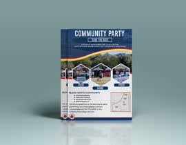 #100 for Flyer for Community Event af designbosx