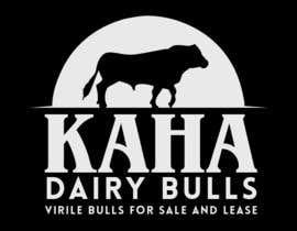 Nro 33 kilpailuun Design a Logo for Kaha Dairy Bulls käyttäjältä brijwanth