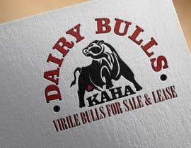 Nro 58 kilpailuun Design a Logo for Kaha Dairy Bulls käyttäjältä SlavIK1991
