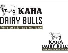 Nro 50 kilpailuun Design a Logo for Kaha Dairy Bulls käyttäjältä creazinedesign