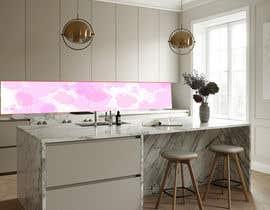 Nro 41 kilpailuun Create realistic visualisation of kitchen glass splashback with gold effect käyttäjältä affanfa