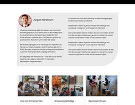 Nro 34 kilpailuun Build new landing page for influencer marketing services käyttäjältä Miraj405