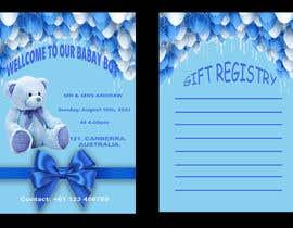 Nro 294 kilpailuun Design Me A Baby Shower Invitation käyttäjältä Hansisarath