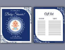 Nro 288 kilpailuun Design Me A Baby Shower Invitation käyttäjältä bestdesign9