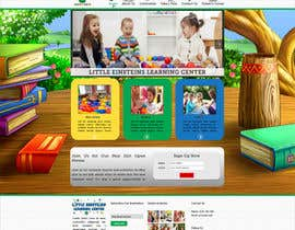#10 for Design a Website Mockup for Little Einstein's Learning Center (Daycare) af gemmyadyendra
