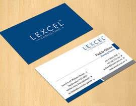 dinesh0805 tarafından Design some Business Cards for Lexcel Consulting için no 216