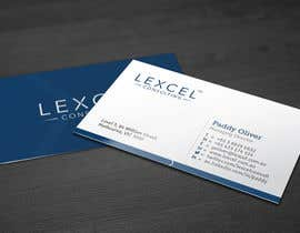 kreativedhir tarafından Design some Business Cards for Lexcel Consulting için no 149