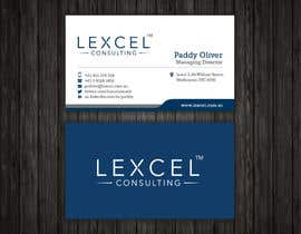 mdreyad tarafından Design some Business Cards for Lexcel Consulting için no 182
