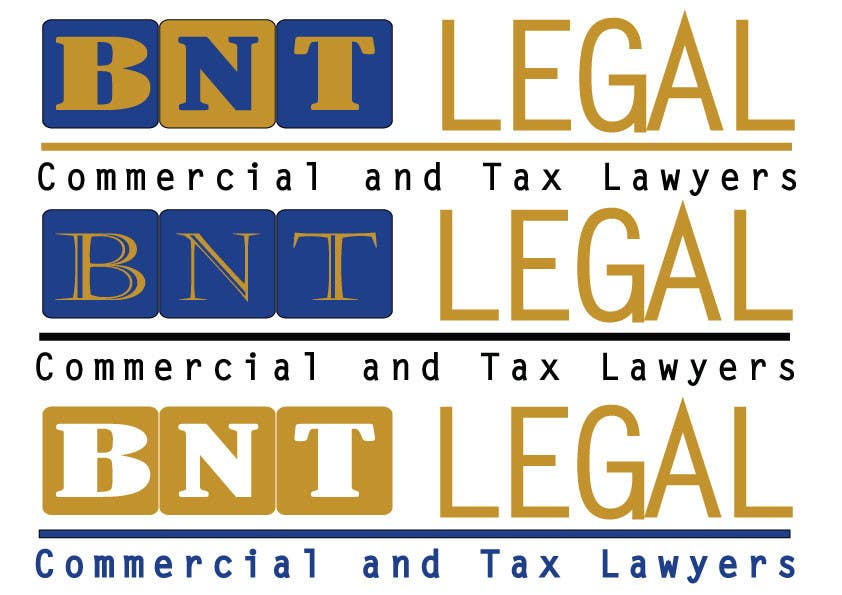 Konkurrenceindlæg #342 for Design a Logo for BNT Legal