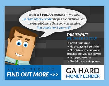 #20 cho Design a Banner for GA Hard Money Lender bởi goranjokanovic