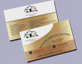 kvd05 tarafından Design some Business Cards for a Pest Control business için no 17