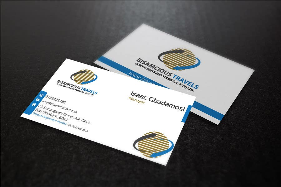 Contest Entry #                                        12                                      for                                         Design a letterhead and business cards for a travel consultantcy